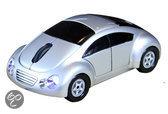 Satzuma Car Mouse - Muis - Silver