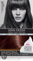John Frieda Precision Foam Colour 5C Medium Copper Brown