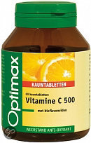 Optimax Vitamine C 500 mg - 60 Kauwtabletten
