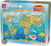 King Puzzel - Comic  World