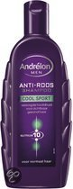 Andrelon for Men Huid & Haar Cool Sport  - 300 ml - Shampoo