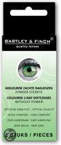 Bartley & Finch - Groen - 2 st - Kleurlenzen