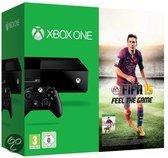Microsoft Xbox One 500GB Console + 1 Wireless Controller + FIFA 15 - Zwart Xbox One Bundel