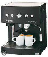 Magimix 11402 Handmatige Espressomachine - Zwart