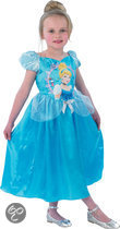 Prinsessenjurk Assepoester - Carnavalskleding - Maat 134-146 - 9-11 jaar