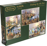 Falcon Fishing by the Sea 3in1 - Puzzel - 500 stukjes