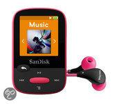 Sandisk Sansa Clip Sports - MP4-speler - 8 GB - Roze