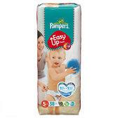 Pampers Easy Up - Luiersbroekjes Maat 5 - Voordeelpak Junior 38st