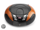 Lenco SCD-37 Portable radio/cd-speler met USB - Oranje