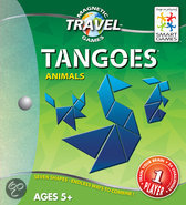 Smart Games Magnetic Travel Tangram Dieren - Reiseditie