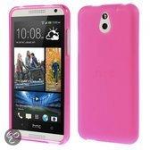 KEES Mat Gel Hoesje HTC Desire 610 - Roze