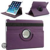 Apple iPad Air Swivel Case, 360 graden draaibare Hoes, Cover met Multi-stand - Kleur Paars
