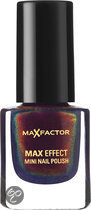 Max Factor Max Effect - 45 Fantasy Fire - Paars - Mini Nail Polish
