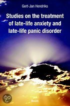 Studies on the treatment of late-life anxiety and late-life panic disorder