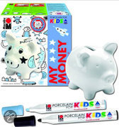 Marabu Porseleinenspaarpot voor Kinderen - Varken