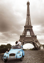 Ravensburger Romantisch Parijs - Puzzel - 1000 stukjes