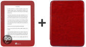 ICARUS Illumina (rood E653RD) e-reader bundel met rode hoes