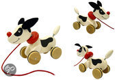 Pintoy Houten pull a long puppy