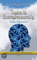 Topics in Entrepreneurship