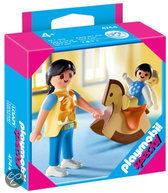 Playmobil Moeder met Baby en Schommelpaard - 4744