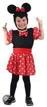 Minnie Mouse kostuum voor meiden 92-104 (2-4 jaar)