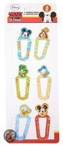Disney Paperclips mickey mouse &amp  friends per 6 stuks