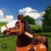 PonyCycle DonkerBruin met bles klein