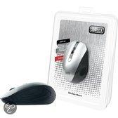 SweexWireless Mouse Silver (Retail, MI481, 1000 - 2000 dpi, Zilver)