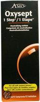 Oxysept 1 Step Desinfectie- en Neutralisatiesysteem 1 Maand - 12 st - Neutralisatietabletten