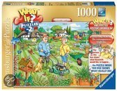 Ravensburger What if? Nummer 2 Garden open day - Puzzel - 1000 stukjes