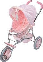Baby Annabell - 2 in 1 Kinderwagen en Comfortabele stoel