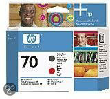 HP 70 Inktcartridge - Mat Zwart