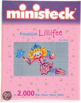 Ministeck Prinses Lillyfee in winterkleding
