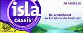 Isla Cassis Keelpastilles met Vitamine C - 30 st