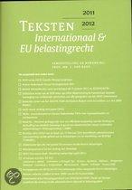 Teksten internationaal & EU belastingrecht
