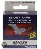 Emdee tape - Wit - 914 x 3.8  - Sporttape