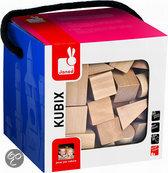 Kubix 50 blank Houten Blokken