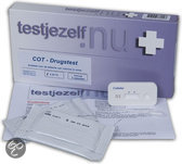 Testjezelf Drugtest Cotinine (Nicotine) - 3 stuks