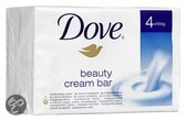 Dove Beauty Cream Bar Original - 4 stuks - Zeep