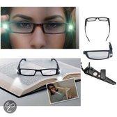 HoesjesBoetiek Met Led lamp sterkte +1.0 - Leesbril