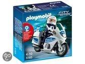 Playmobil Motoragent met Zwaailichten - 5185