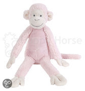 Happy Horse - Aap Mickey No.1 Roze - Knuffel