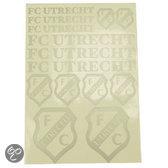 FC Utrecht Sticker - Zilver