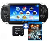 Foto van Sony PlayStation Vita WiFi+3G Killzone: Mercenary + 3G Simcard NL + 8GB Memory Card