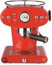 illy  Espressoapparaat X1 Trio - Rood (voor E.S.E. Servings)