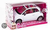 Barbie met Fiat - Voertuig