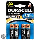 Duracell Ultra Power AA Alkaline Batterijen 4x Pak