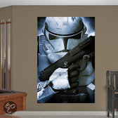 Clone Trooper muursticker / Clone Trooper poster / STAR WARS muursticker