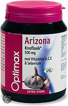Optimax Arizona Knoflook met Anti-oxydanten A, C, E en Selenium Tabletten 170 st