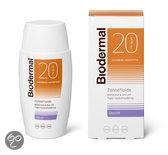 Biodermal Matterende Zonnefluide Gezicht SPF20 - 50 ml - Zonnebrandcrème